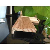 6分 异形 贴木皮 KL33 佛山 红橡实木装饰线 厂家行业领先
