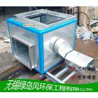 兴宜双进风厨房排油烟外侧电机DT柜式风机新风静音风机箱10#1.1kw