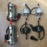 挖掘机洋马电子泵柴油泵汽油泵12V 24V全铜电子泵外置燃油泵配件