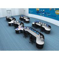 监控室办公桌 指挥室调度桌子 控制室操作桌席