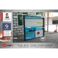 开华为荣耀3.0体验店 体验台 配件柜 新款2017蓝色收银台图片定制