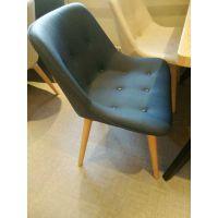 冬季新中式餐厅桌椅现代欧美风餐桌餐椅饭店酒店宴会厅桌椅实木铁艺椅