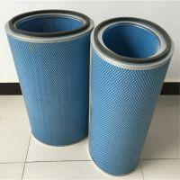 煜坤公司供应替代唐纳森进口阻燃滤纸除尘滤芯滤筒 喷砂机除尘滤芯空气滤筒