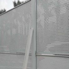 香洲金属板爬架网价格 高新区烤漆白色围挡 金湾隔音消防网