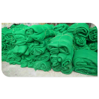 福瑞德 聚乙烯绿色垃圾苫盖网现货批发:15131879580