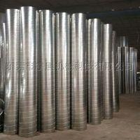 东莞镀锌螺旋风管 白铁皮圆形风管厂家-宇晨科技