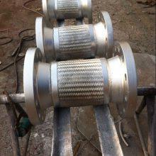 供应银川DN500*800不锈钢活套法兰金属软管 优质服务【润宏】