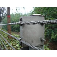 公路缆索护栏、缆索防撞护栏、柔性钢丝绳护栏