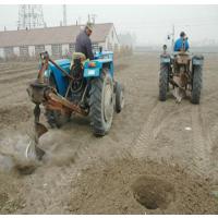 宏燊供应悬挂式挖坑机 四轮拖拉机挖坑机 植树打洞机