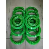 批发绿色PU圆皮带、 易接驳聚氨酯圆皮带、 光面/粗面、 无缝