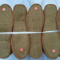 天然除臭棕鞋垫批发 网面花边山棕鞋垫 除臭吸汗棕榈鞋垫