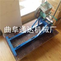 玉米大米江米棍机 低噪音空心棒膨化机 休闲食品加工设备 通达促销