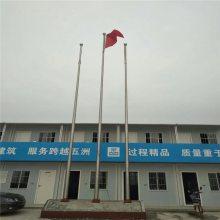 耀恒 泰州旗杆高度标准 泰州不锈钢锥形旗杆图片 厂家