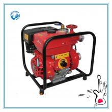 2018批量出售11马力手抬泵 型号BJ7 单缸手抬机动消防泵