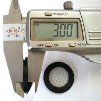 YF815硅胶包边过滤网垫片20*11.5*3mm304滤网40目60目80目