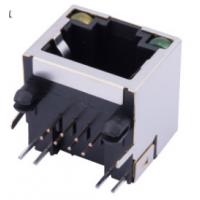 RJ45网络接口 带LED灯 56A屏蔽8P8C单口(56A-S1188L1)