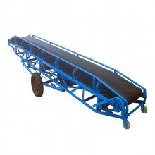 [都用]散装粮食输送机 木屑皮带输送机 加工定做大型皮带机