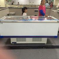 供应超市用的水饺馒头速冻岛柜_直冷岛柜冷冻价格_商超制冷设备