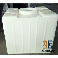 1吨pe材质的集装桶 1000升叉车集装桶 盖口径400mm的集装桶