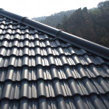 黑龙江新农村建设用瓦,老家老房子换瓦,大连凡美氟塑树脂波形瓦厂家直接供应