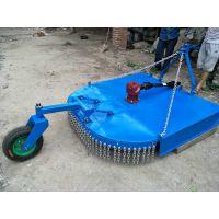 四轮拖拉机带的1米甩刀割草机 农场用的割牧草的甩刀割草机