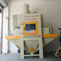 厂家直销输送式自动喷砂机,适用于平面工件、玻璃、四方体等表面处理