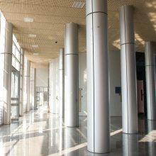 万达影城室内包柱铝单板-欧百建材设计图纸生产定制