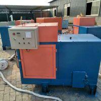 大城县锯末颗粒燃烧炉60万大卡生物质热水锅炉安装调试