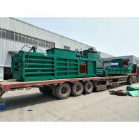 郑州宝泰机械半自动废纸箱打包机转让厂家销售