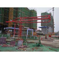 辽宁葫芦岛天旺十五米新式圆管/方架布料机混凝土散料好设备