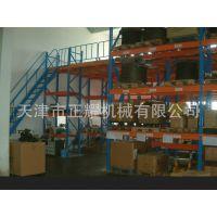 台州阁楼式货架厂 阁楼式二层钢平台