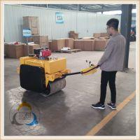 手扶振动压路机价格 小型回填土压路机选择三人行机械