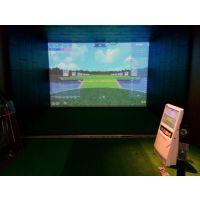 代理加盟-韩国原装FIELD ZONE SP-1000高尔夫模拟器 室内高尔夫