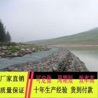 pvc包塑石笼网 绿色防洪堤金属网 厂家