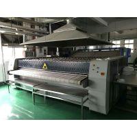 桂林出售申光洗衣机100公斤 3.3米三滚烫平机