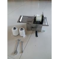 半自动香肠扎线机 手动腊肠捆绑机 肉制品加工设备