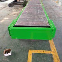 不锈钢链板输送机多规格快递分拣输送线食品链板输送设备德隆非标定制