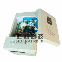 HK20KW电磁加热器用于热水管道加热的效果