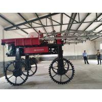 辰阳牌腰间转向四轮驱动四轮自走式喷药机小麦水稻打药机器喷雾机