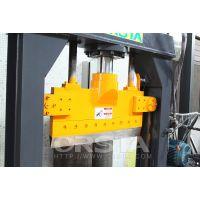 厂家供应捆状塑料切块机,液压切刀分离机器