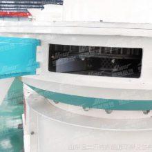 河南2018款新型立式环模颗粒机客户现场生产线设备恒美百特牌