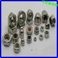 灯饰螺母 不锈钢锥头螺母 尖头不通孔螺母 生产加工定做  螺帽厂