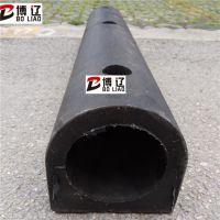 D150橡胶防撞条 D型橡胶防撞条卸货平台防撞墩防撞块安装防撞设施