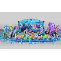海洋爬山车 户外大型游乐设备 双轨迷你穿梭儿童游乐设备批发价格