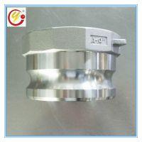 潍坊冠宇精密铸造A型不锈钢快速接头 1.2寸口径内螺纹卡套快接