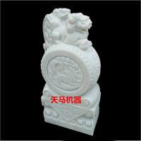 水泥砌块雕刻机 立体圆雕 平面浮雕 天马1325重型四轴石材雕刻机