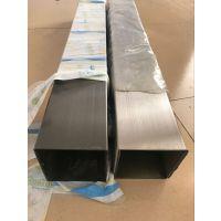 江西201黑钛不锈钢方管 100*100*1.9厚