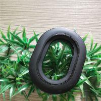 生产航空耳机专业硅胶皮耳套 热压TPU成型皮套 量大价优吸音海绵