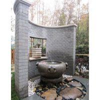 青岛雅居庭院专用承接别墅水池假山设计施工