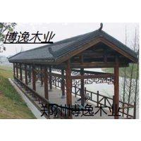 河南专业批发碳化木凉亭生产商 专业生产四角亭六角亭厂家直销15517173337